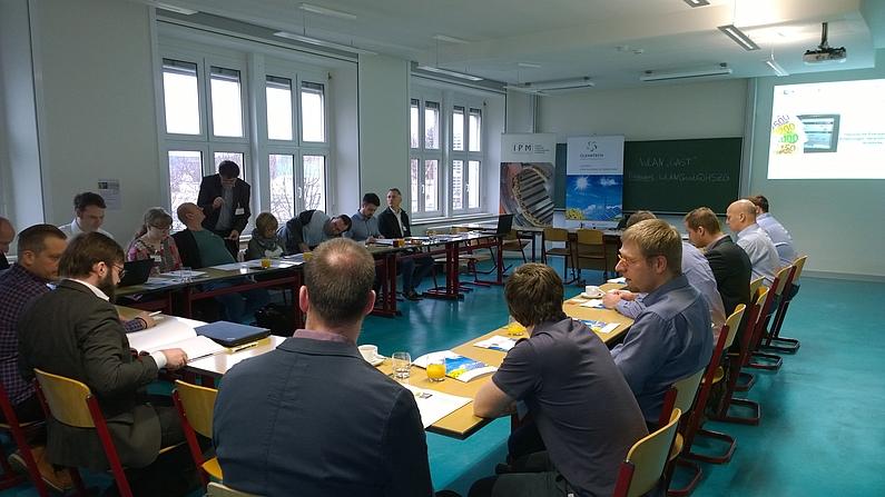 Teilnehmer des CIO-Arbeitskreises Energiespeicher