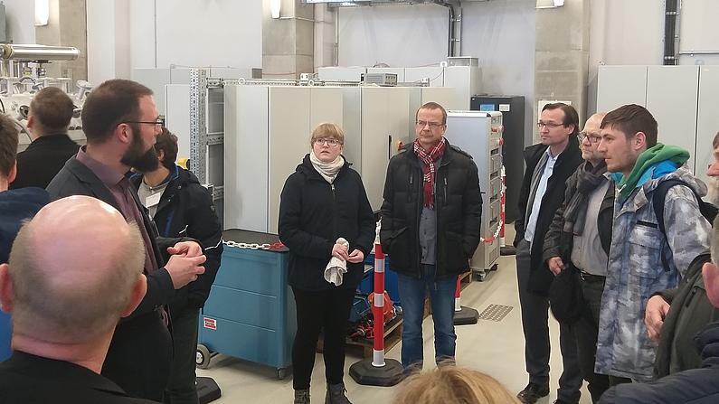 Vorstellung Zittauer Kraftwerkslabor durch Torsten Klette, HSZG